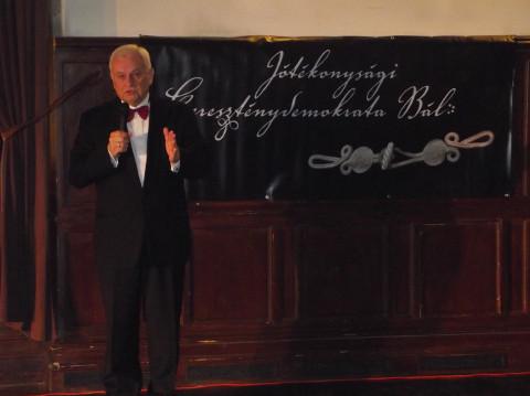 Az V. Jótékonysági Kereszténydemokrata Bált, a Magyar Kultúra Házában  tartották