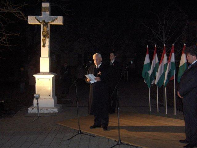 Az 1848-49-es Forradalomra és Szabadságharc emlékünnepsége Budaörsön