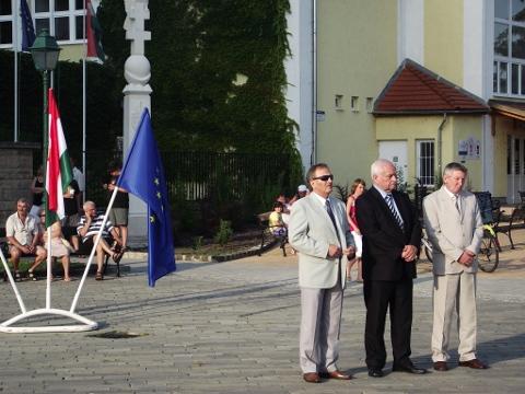 Harrach Péter a Szobi Városnapok megnyitóján