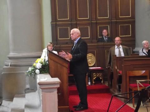 A Váci Apor Vilmos Katolikus Fõiskola diplomaosztóján