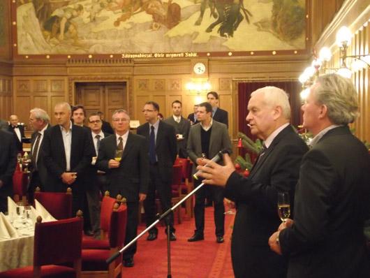 A KDNP sajtófogadást adott a Parlament Vadásztermében