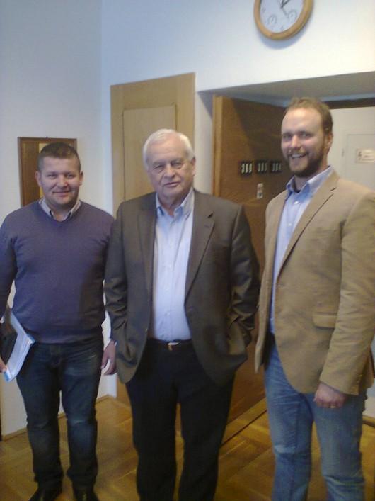 Harrach Péternél járt a Moldvai Csángómagyarok Szövetségének küldöttsége