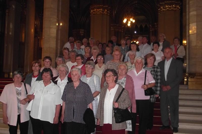 Õrbottyáni látogatók a parlamentben