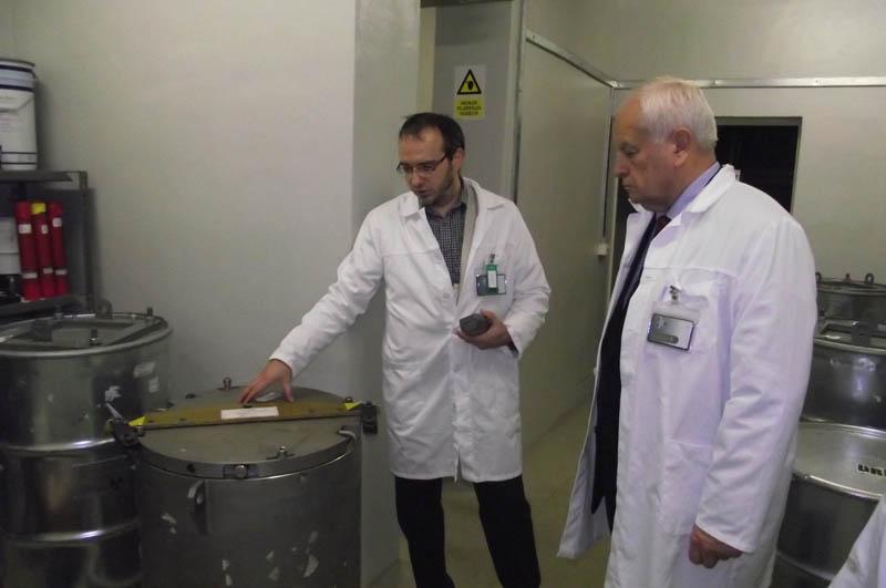 Harrach Péter látogatást tett a körzetében található radioaktív hulladéklerakóban