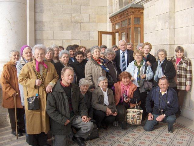 Kismarosi nyugdíjasok