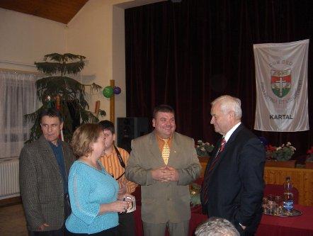 A Kartali polgármester választás kampányrendezvényén
