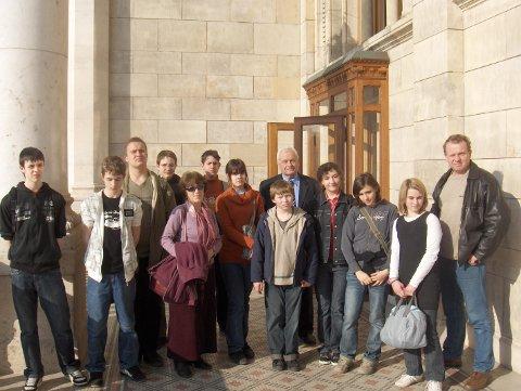 Látogatók a Parlamentben 2010. március 24-én