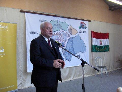 Harrach Péter beszéde a Trianoni békediktátum 90. évfordulóján tartott ünnepi megemlékezésen, Szigethalmon